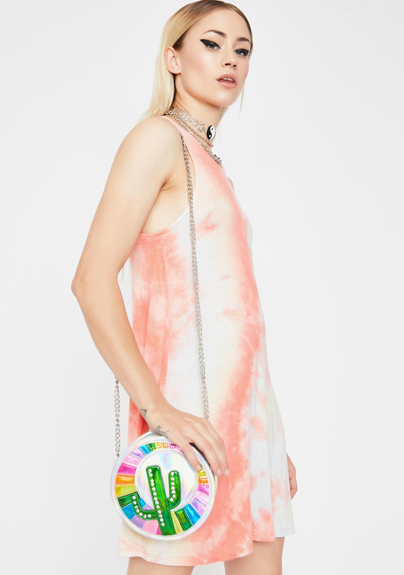 Mixed Feelings Tie Dye Dress
