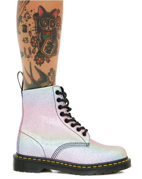 Glitter Pascal Boots