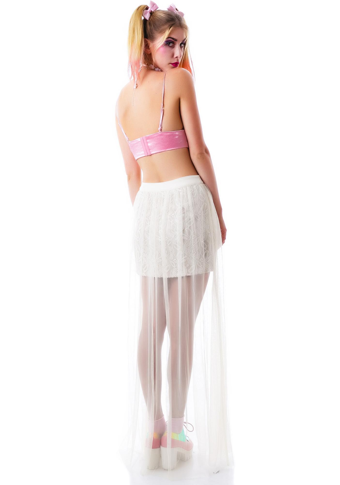 Midsummer Dream Lace Skirt