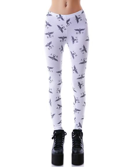 Allover Eagle BOY Standard Leggings