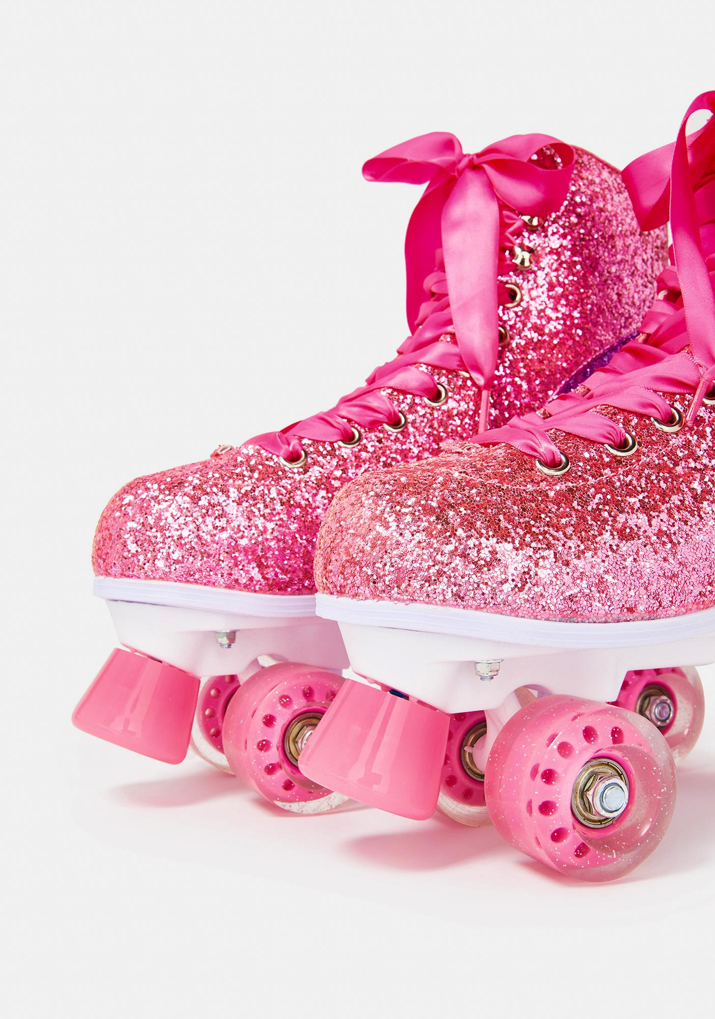 Impala Rollerskates Pink 2 Pack Stopper With Bolts