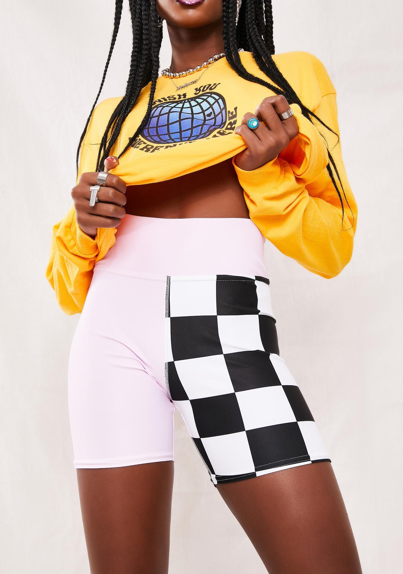 Proper Gnar Duo Checkered Shorts