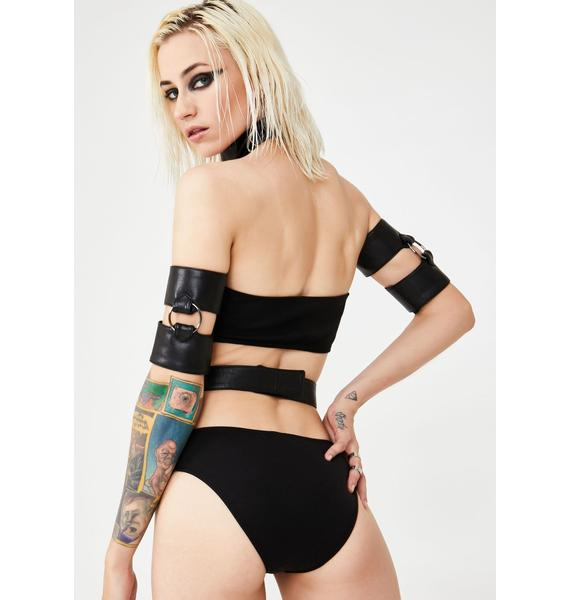 Club Exx Midnight Luster Booty Shorts