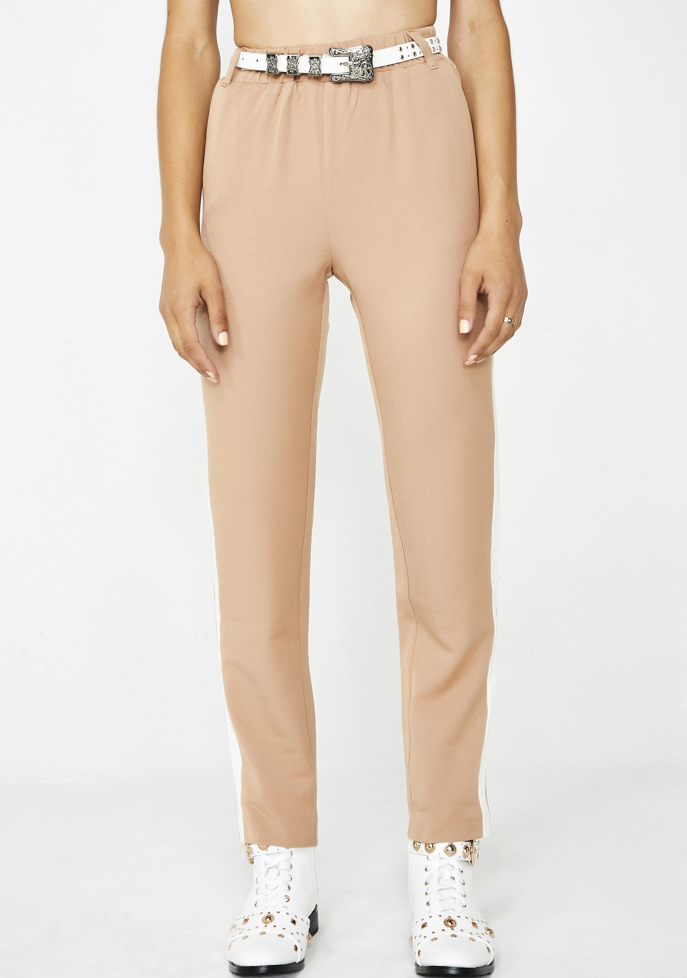 End Game Stripe Trousers