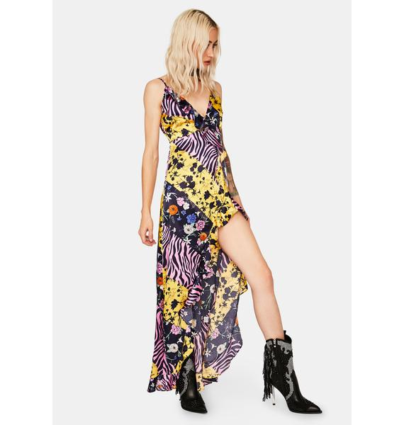 Wild For The Night Maxi Dress