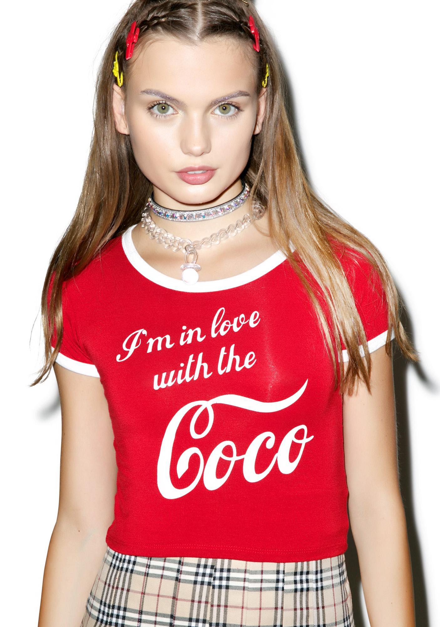 O Mighty Coco Ringer Tee