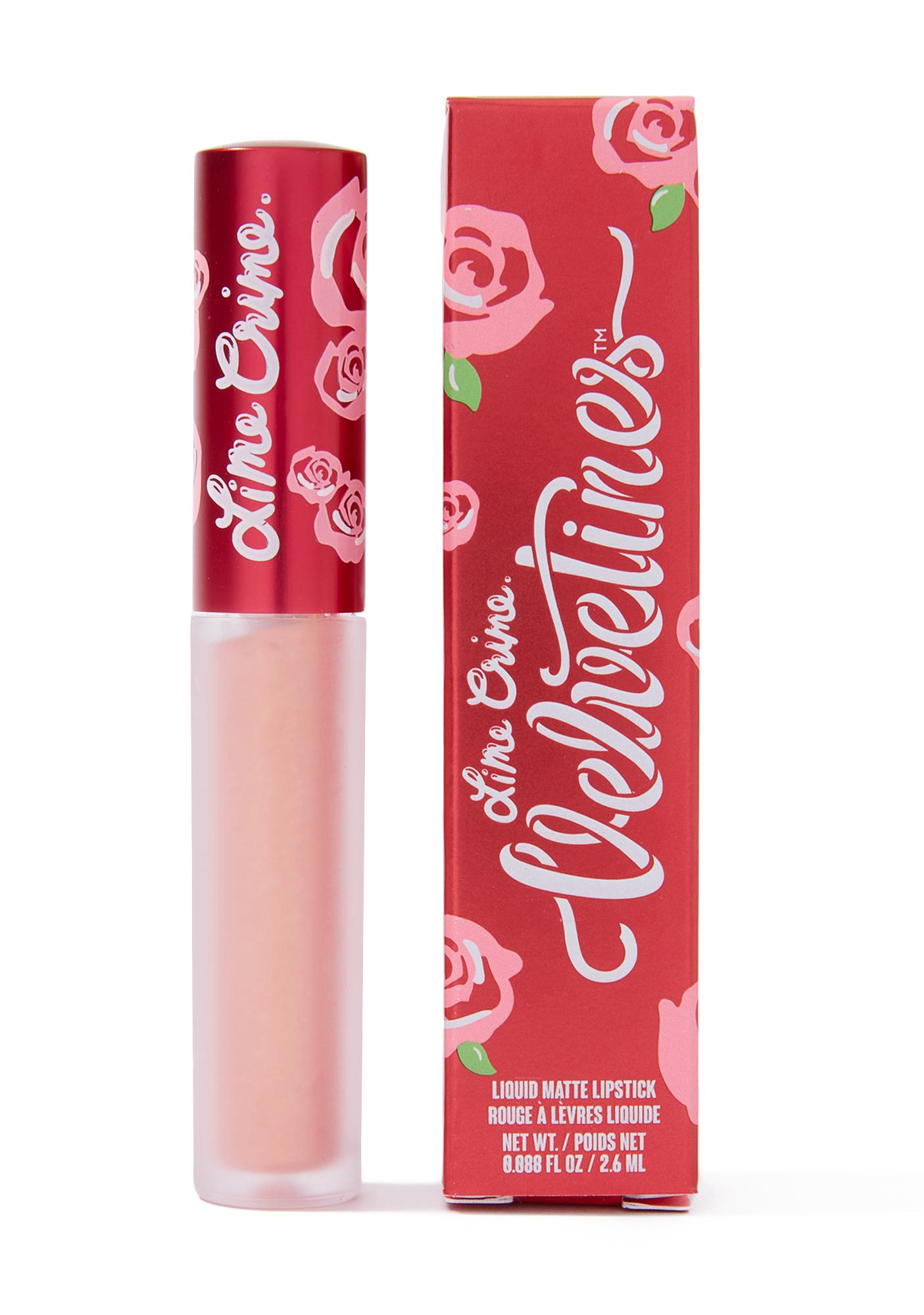 Lime Crime Siren Metallic Velvetine Liquid Lipstick