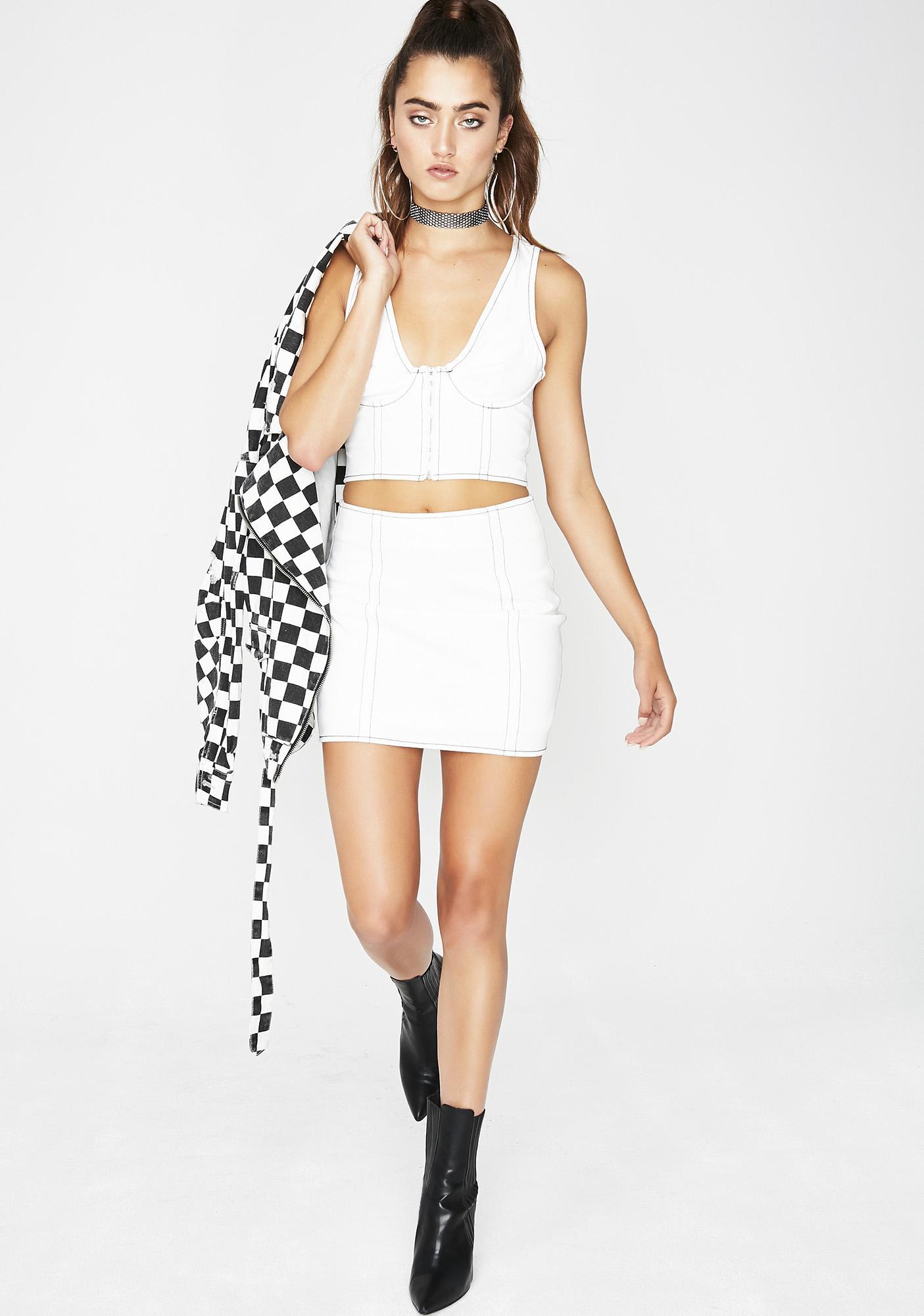 Mean Machine Skirt Set