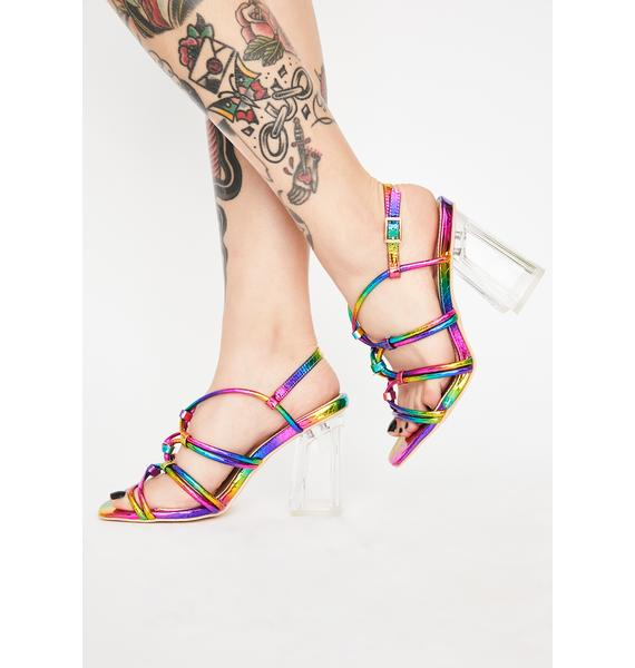Freaky Play For Keeps Clear Heels