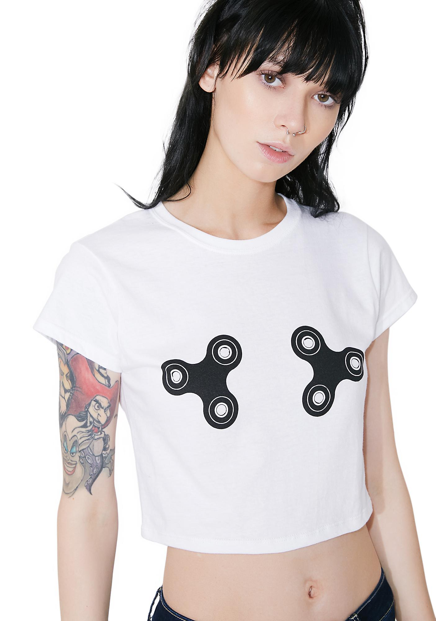 Untitled & Co Fidget Spinner Crop