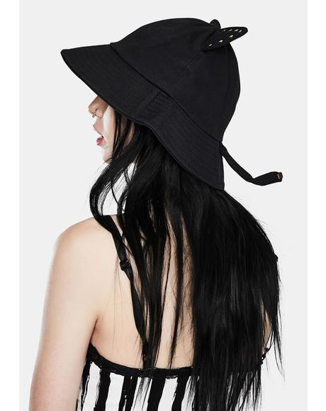 Cryptic Creature Cat Ear Bucket Hat