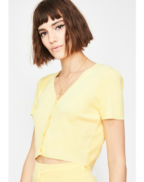 Sunny Lover Crop Top