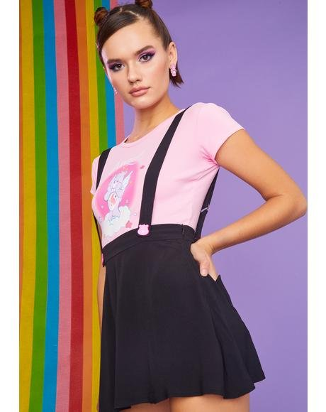 Be My BFF Suspender Skirt