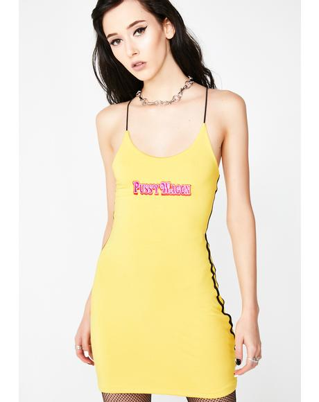 Pussy Wagon Mini Dress