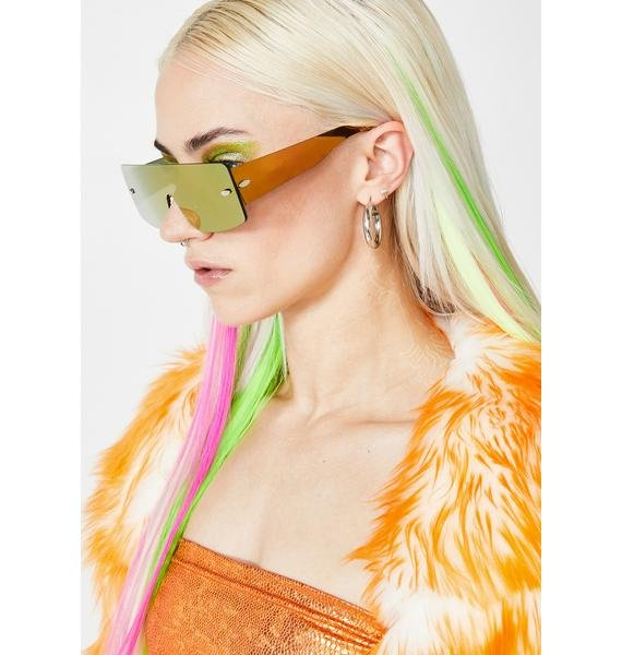 Gimme Space Shield Sunglasses