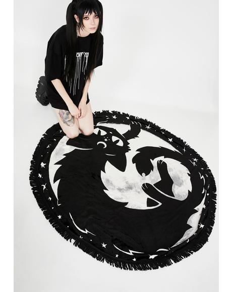 Moon Kitty Blanket