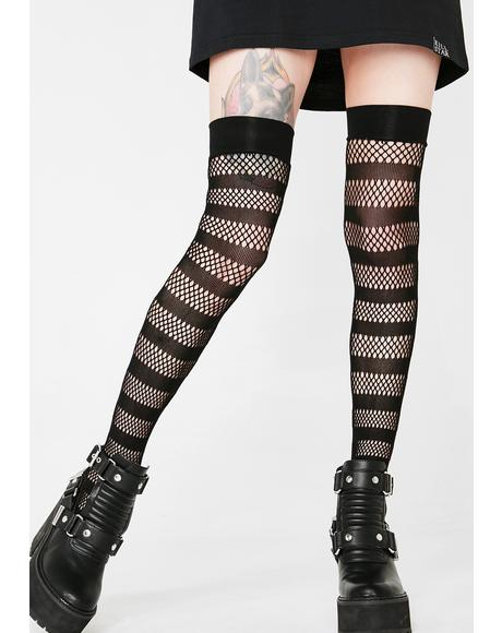 Shena Fishnet Stockings
