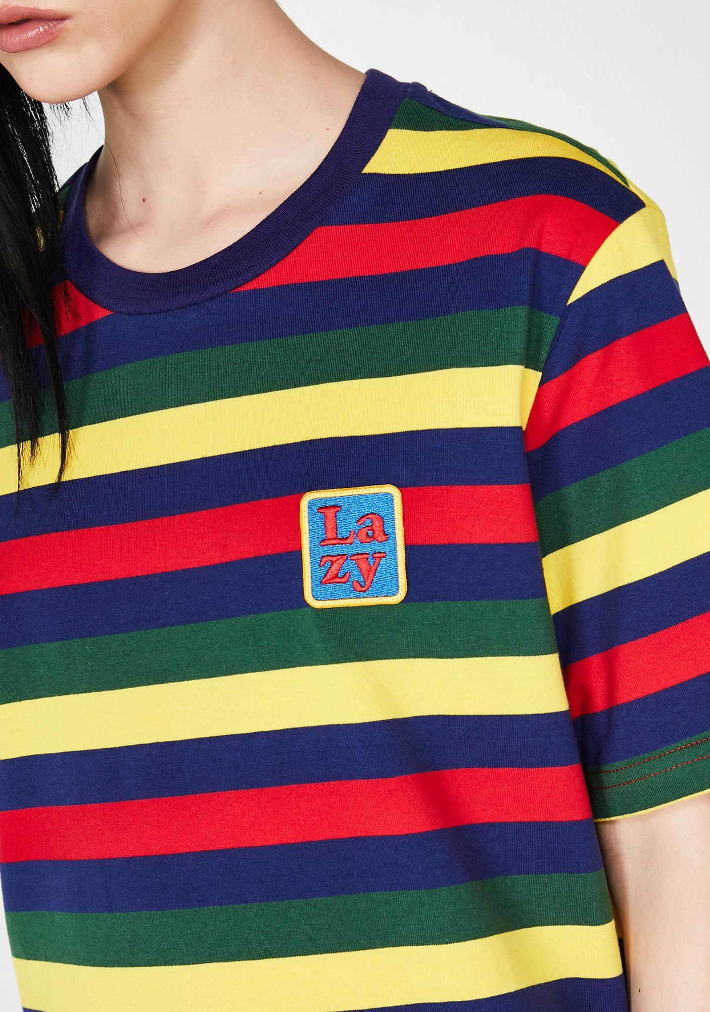 Lazy Oaf Big Stripe Lazy T-Shirt