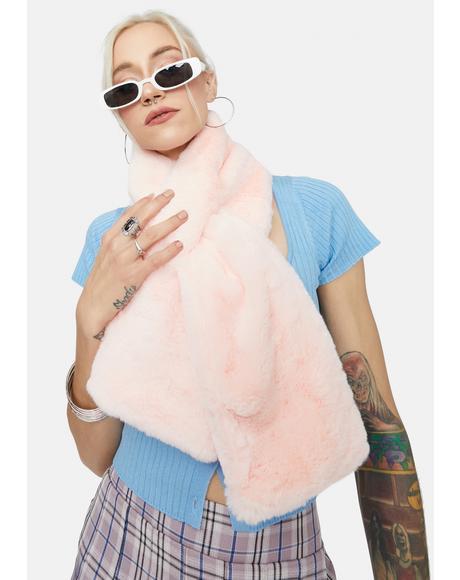 Plush Love Faux Fur Scarf