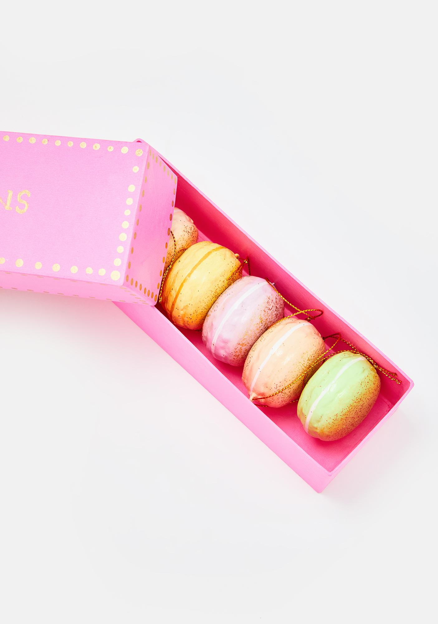 From Paris With Love Macaron Ornament Set