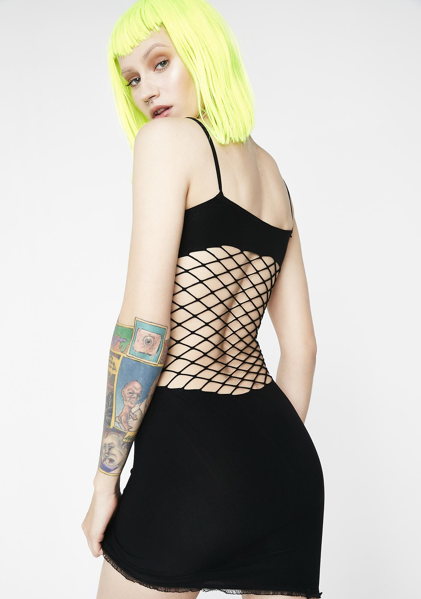 Dark Toxic Lover Seamless Dress