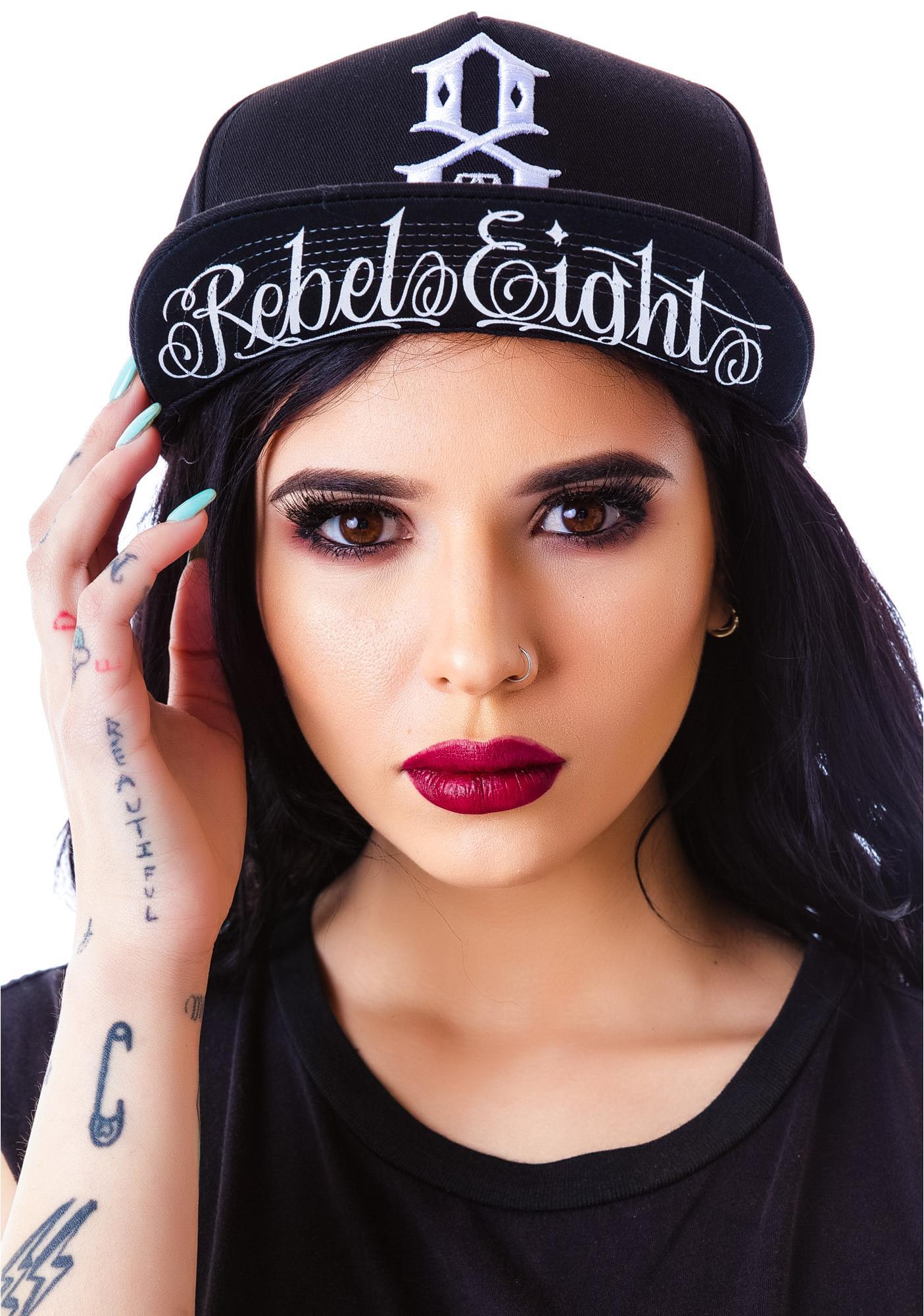 Rebel8 Standard Issue Logo Snapback