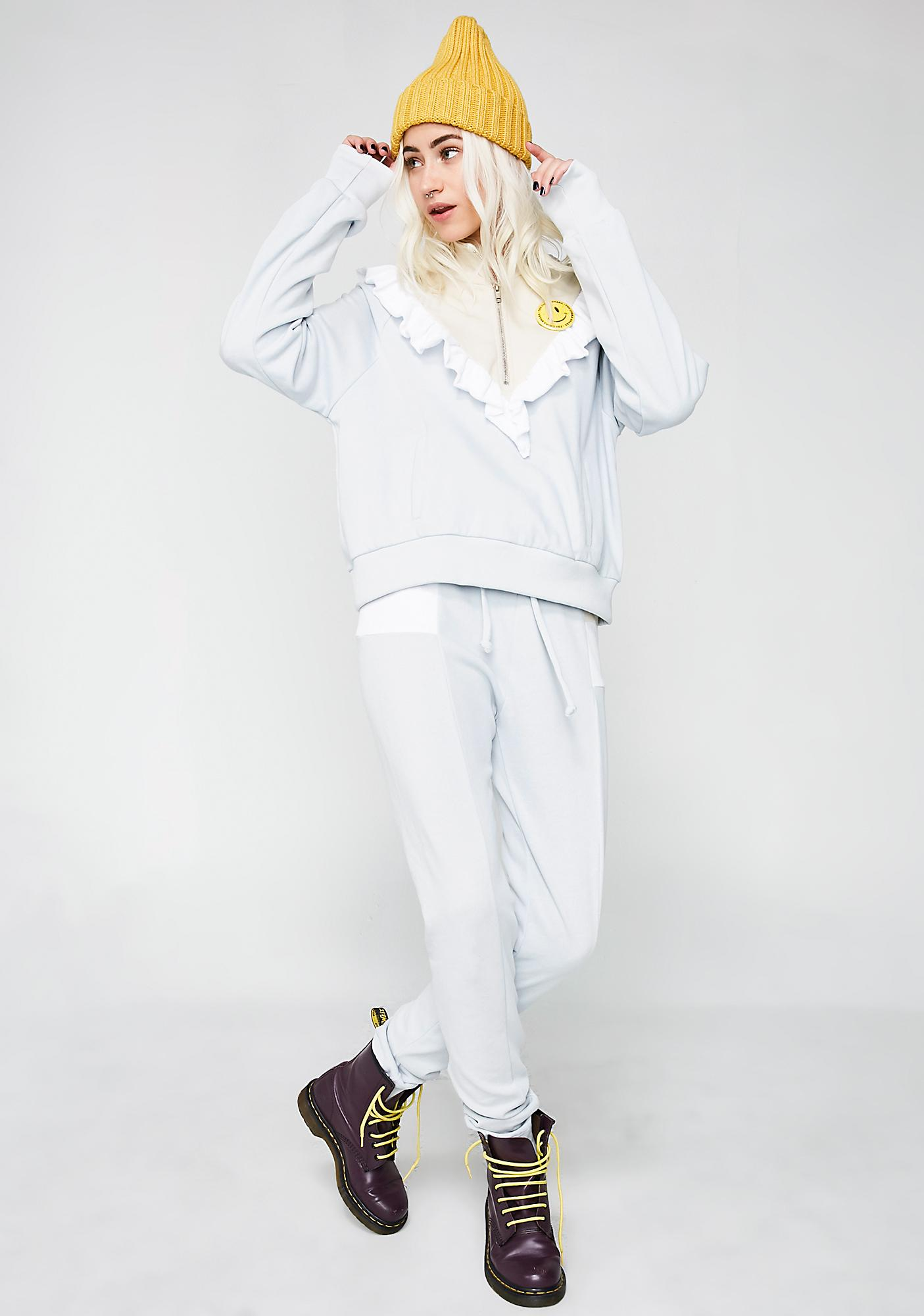 Wildfox Couture Prima Warm Up Pullover
