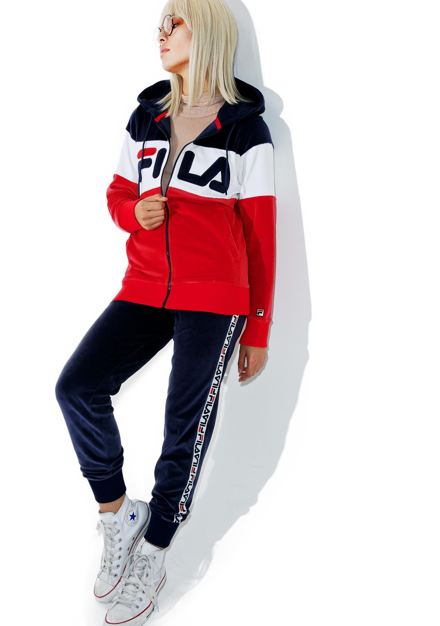 Fila Sandy Velour Jacket