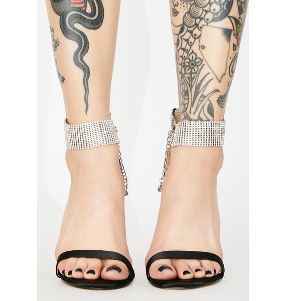 Public Desire Glamorous Rhinestone Heels