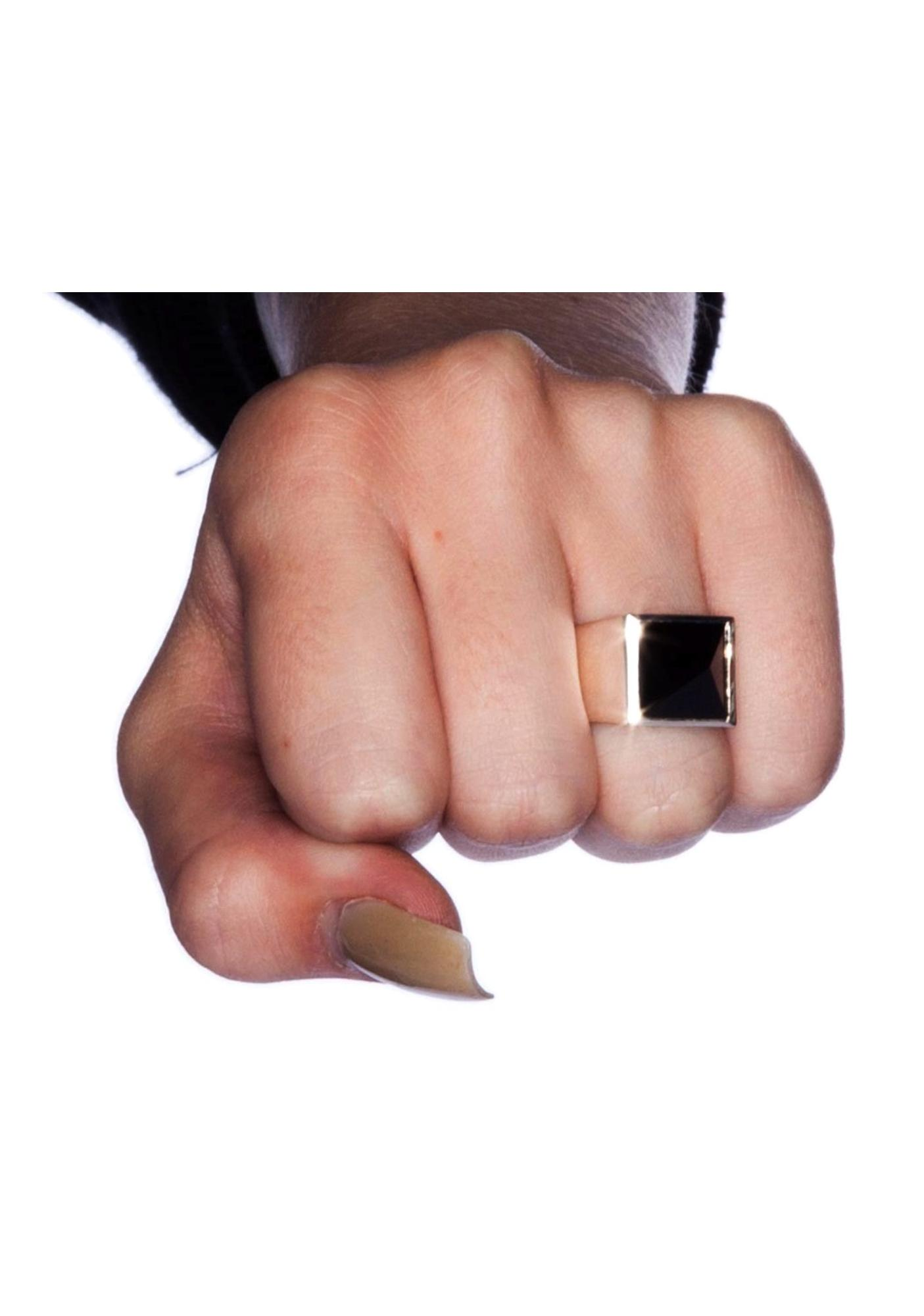 Stolen Girlfriends Club Pyramid Ring