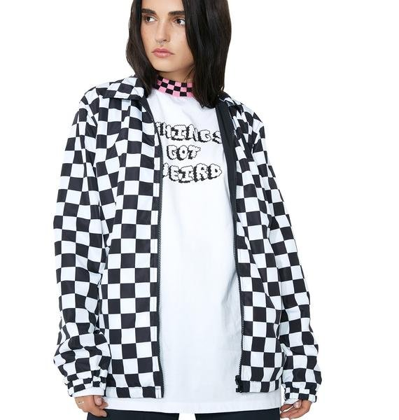 Lazy Oaf Irregular Fit Coach Jacket