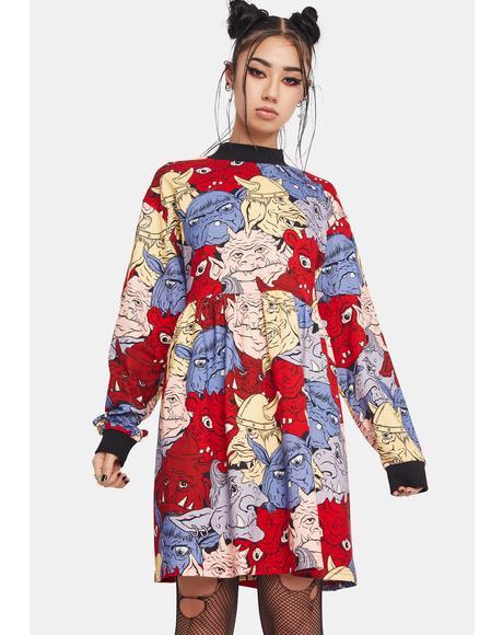Goblin Gang Sweater Dress