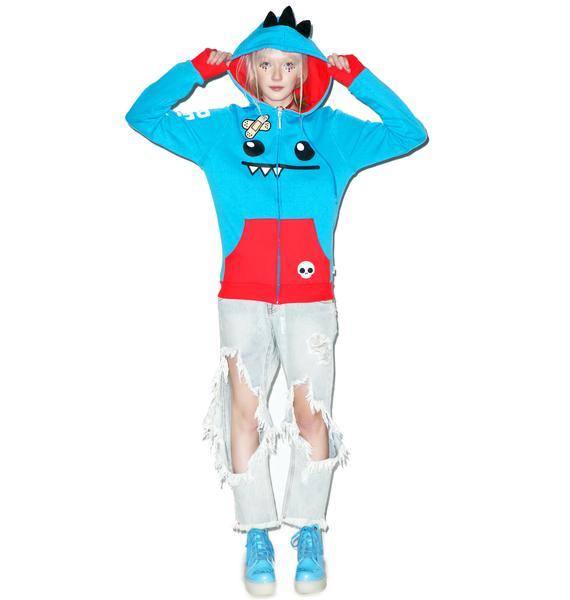 Iron Fist Ozzie Blue Hoodie