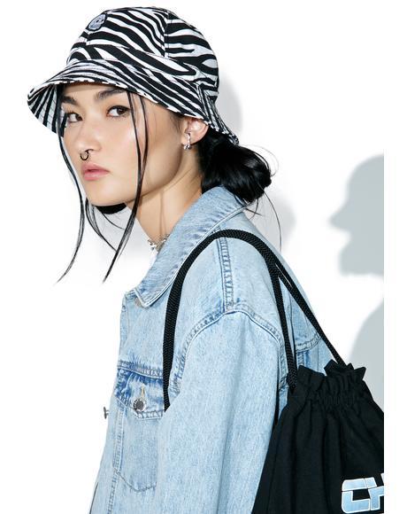 Zebra Bucket Hat