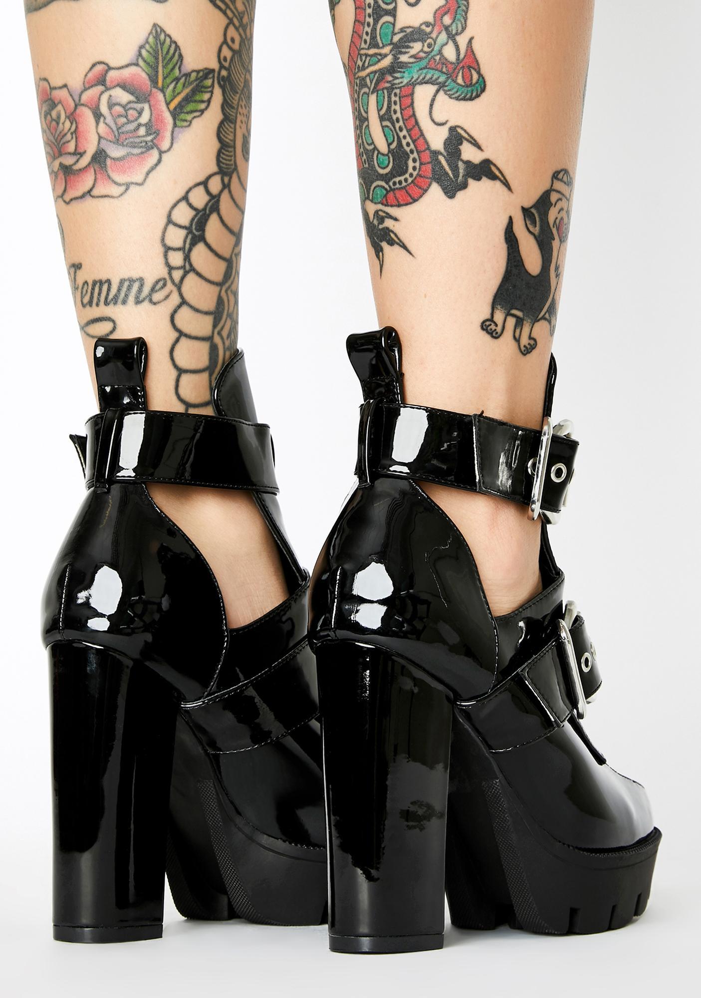 Run The World Heeled Boots