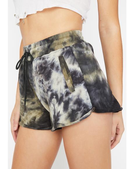 Battlefield Tie Dye Shorts