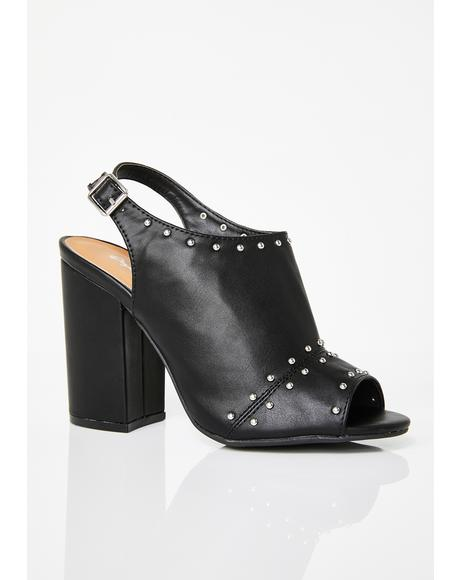 Step It Up Studded Heels