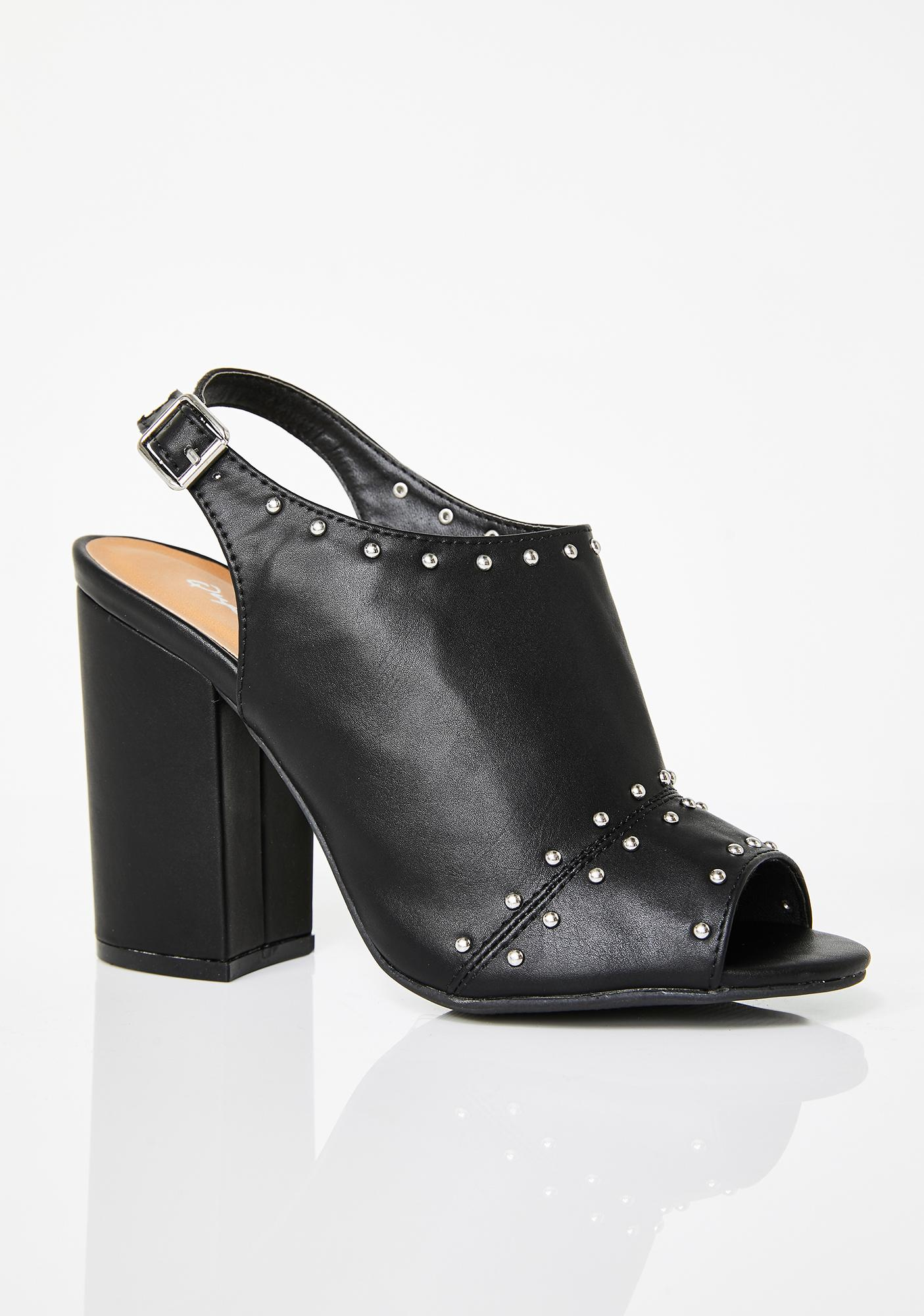 Step It Up Studded Heels