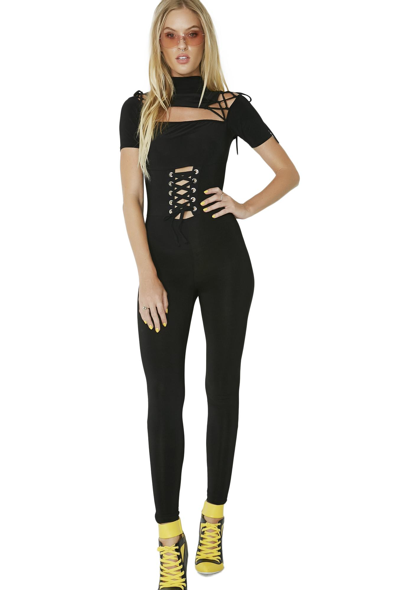 Miss Mayhem Corset Bodysuit