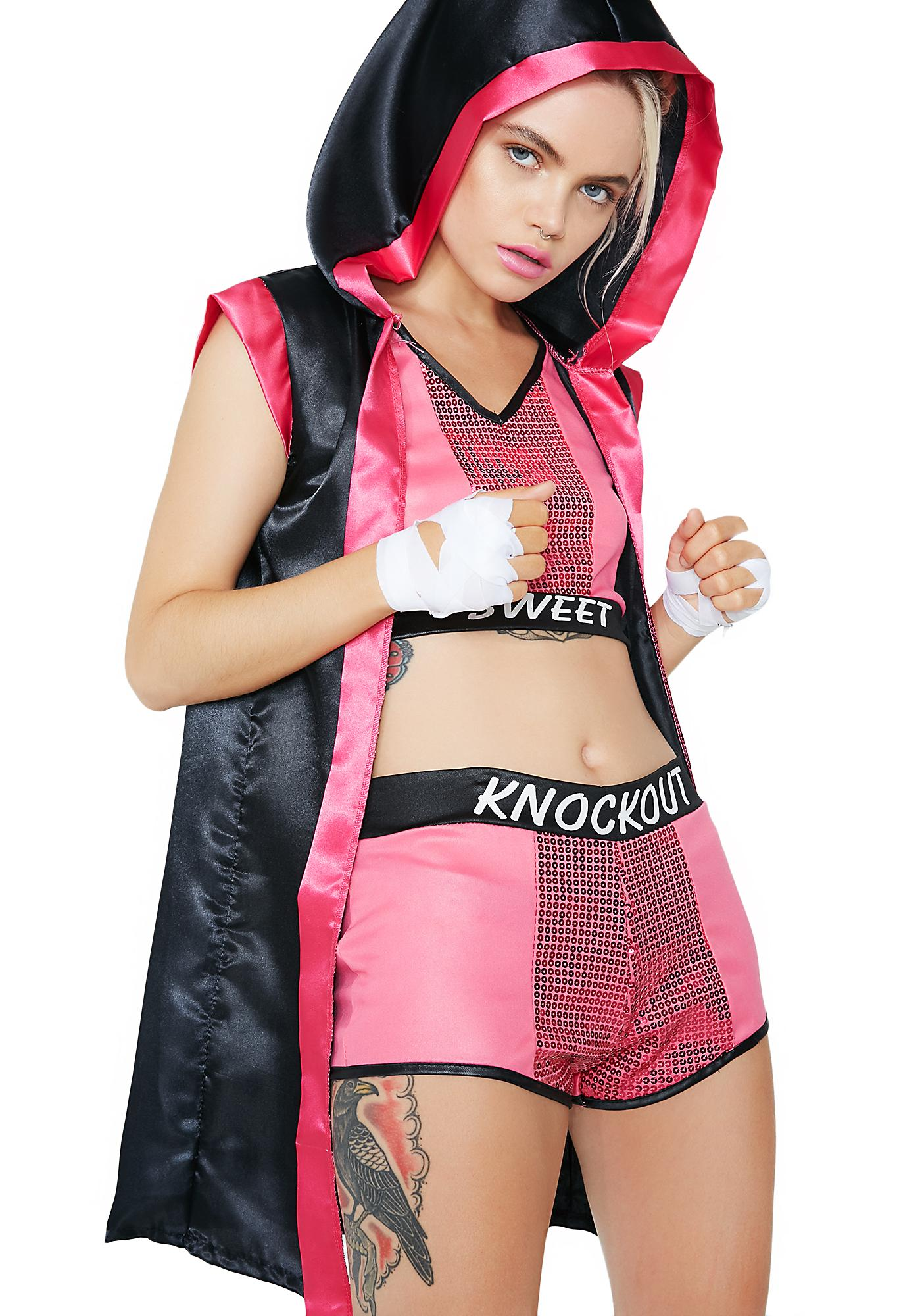 Knock You Out Costume Set