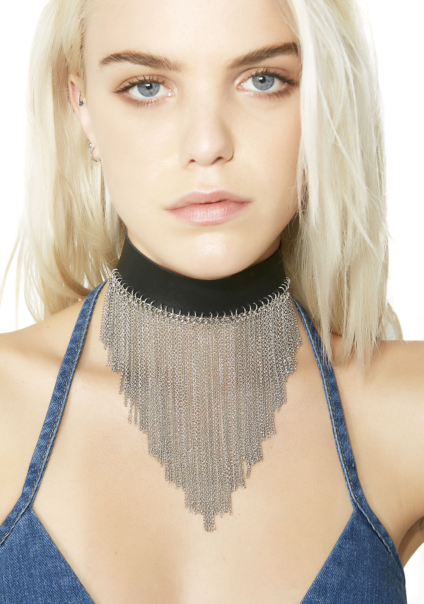 Wild Child Fringe Choker