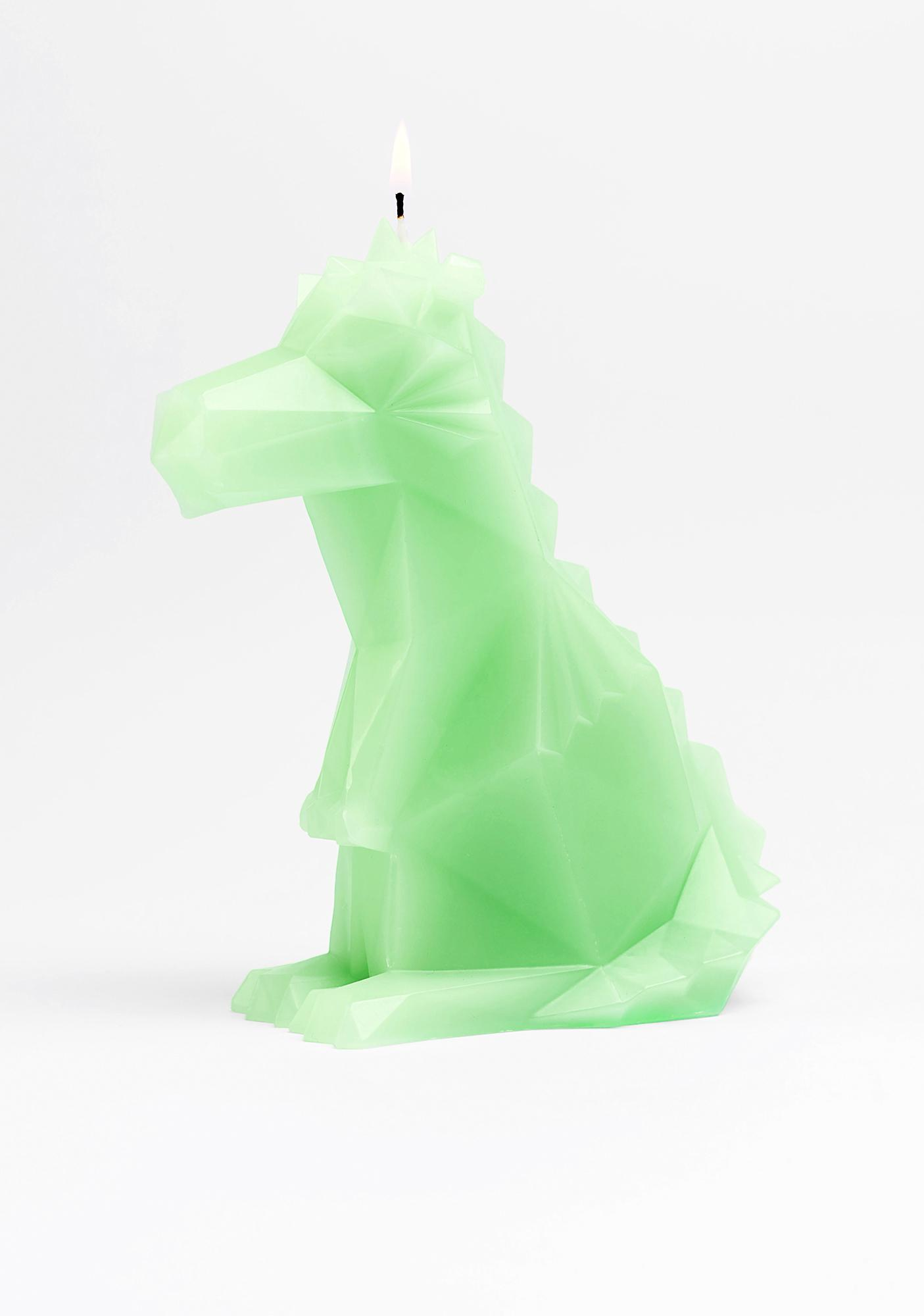 54Celsius Dreki Neo Mint Dino Candle