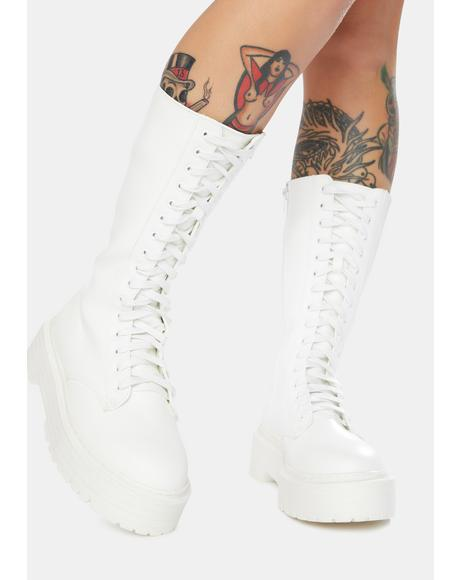 Kendall Combat Boots