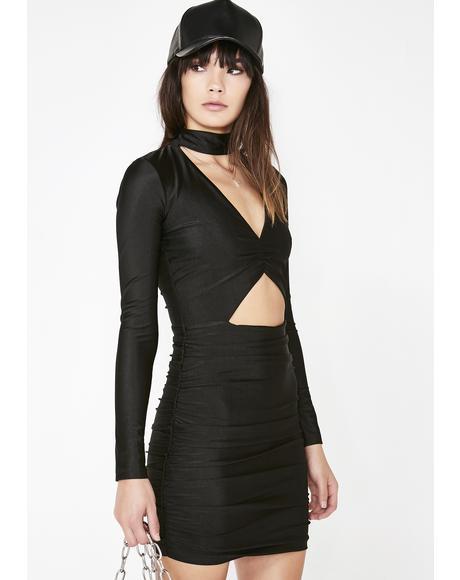 Roxy Ruched Dress