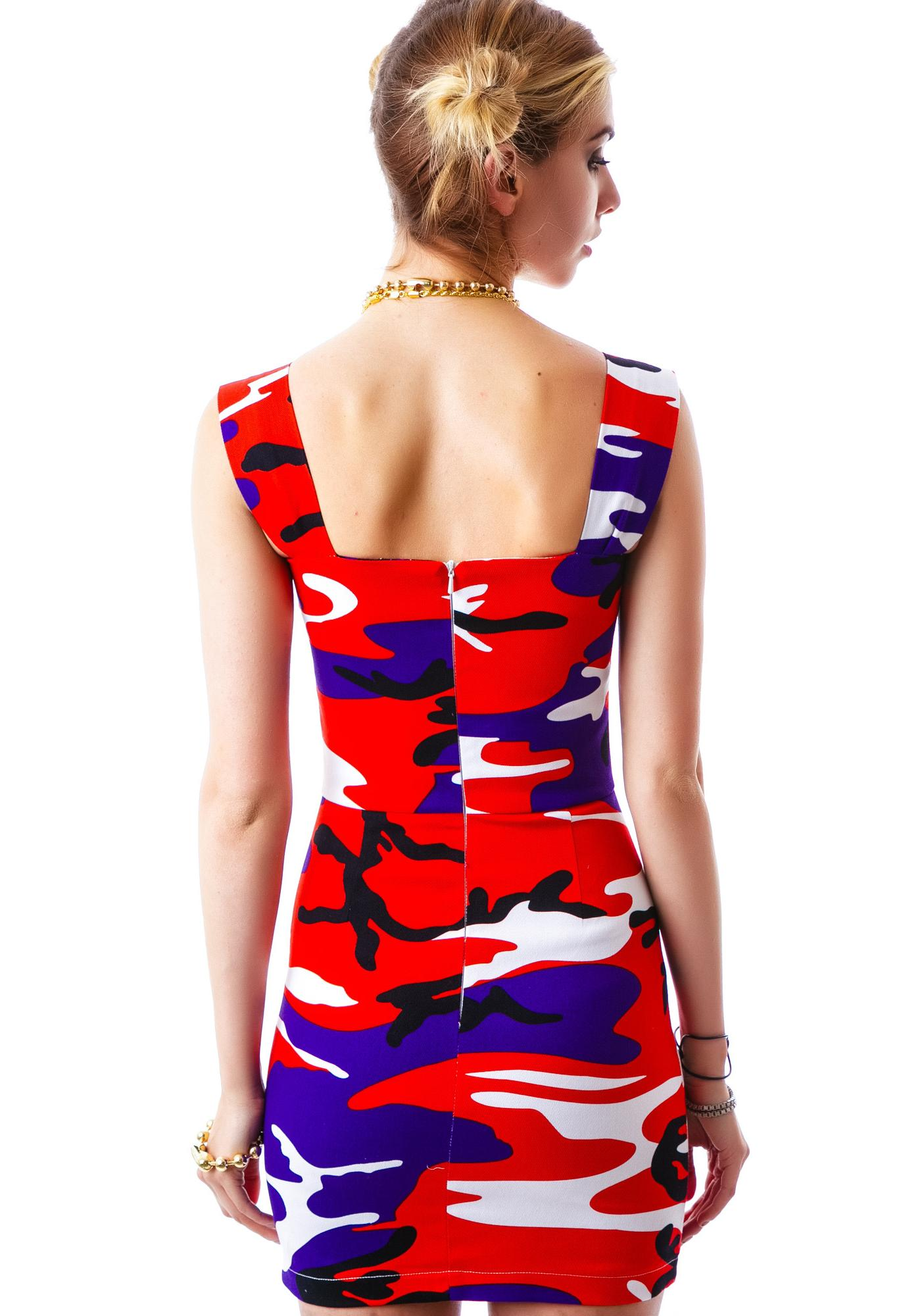 Joyrich Ocean Safari Tube Dress