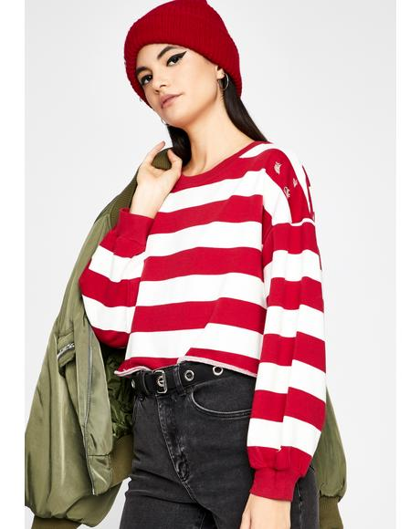 Waldo Who Stripe Top