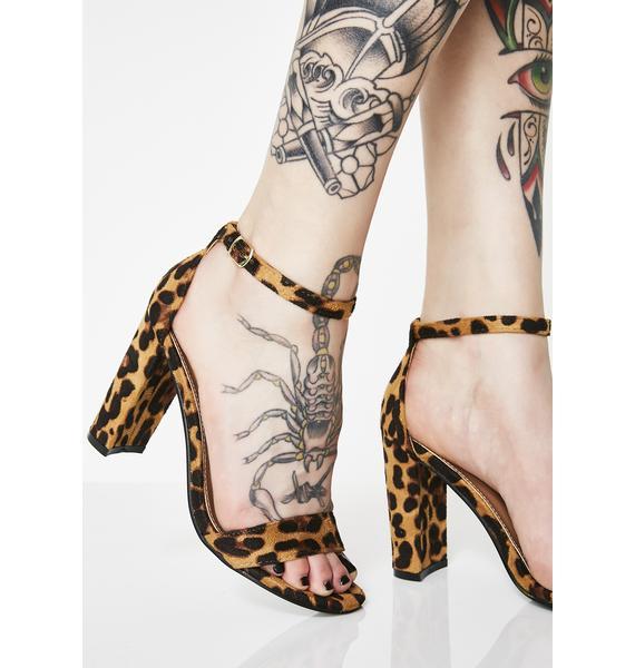 Foxxy Feline Block Heels