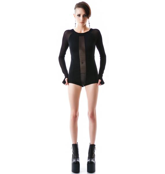 One Teaspoon Black Lion Bodysuit