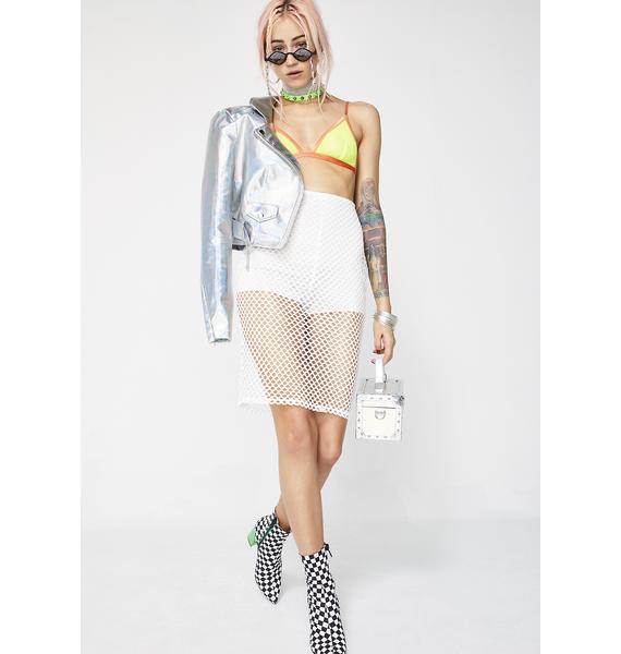 Dream About It Net Skirt