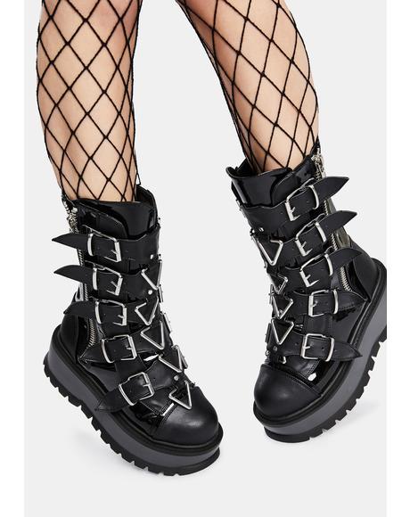 Slacker Combat Boots